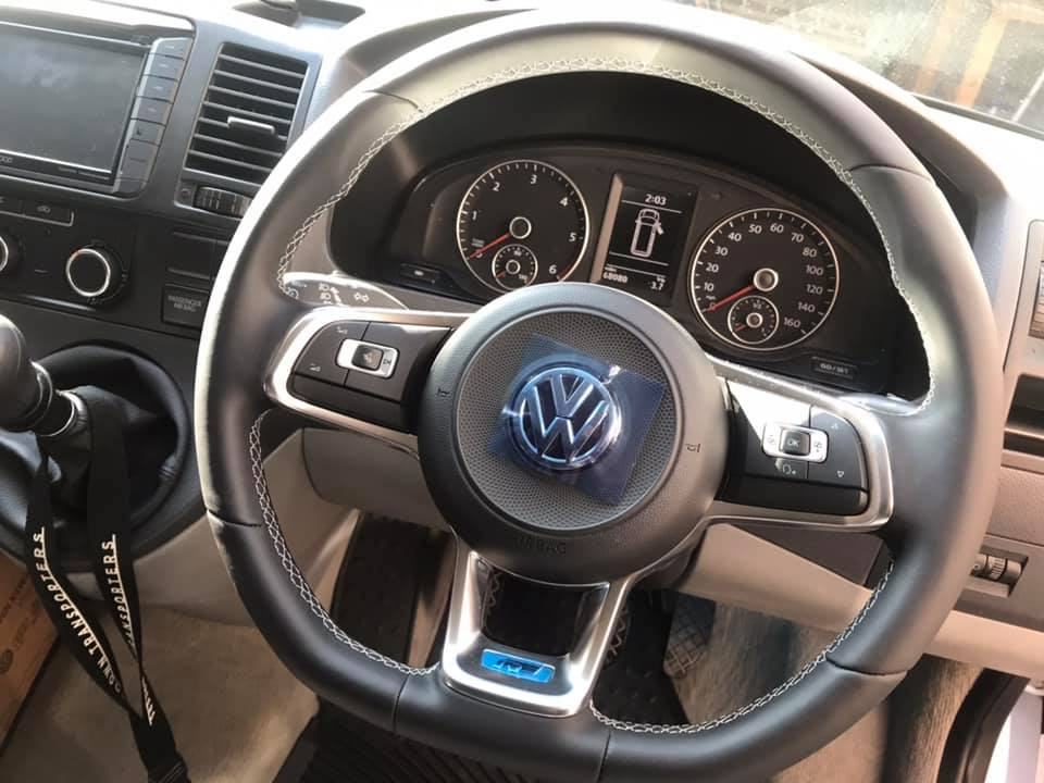 MK7 R MULTIFUNCTION STEERING WHEEL