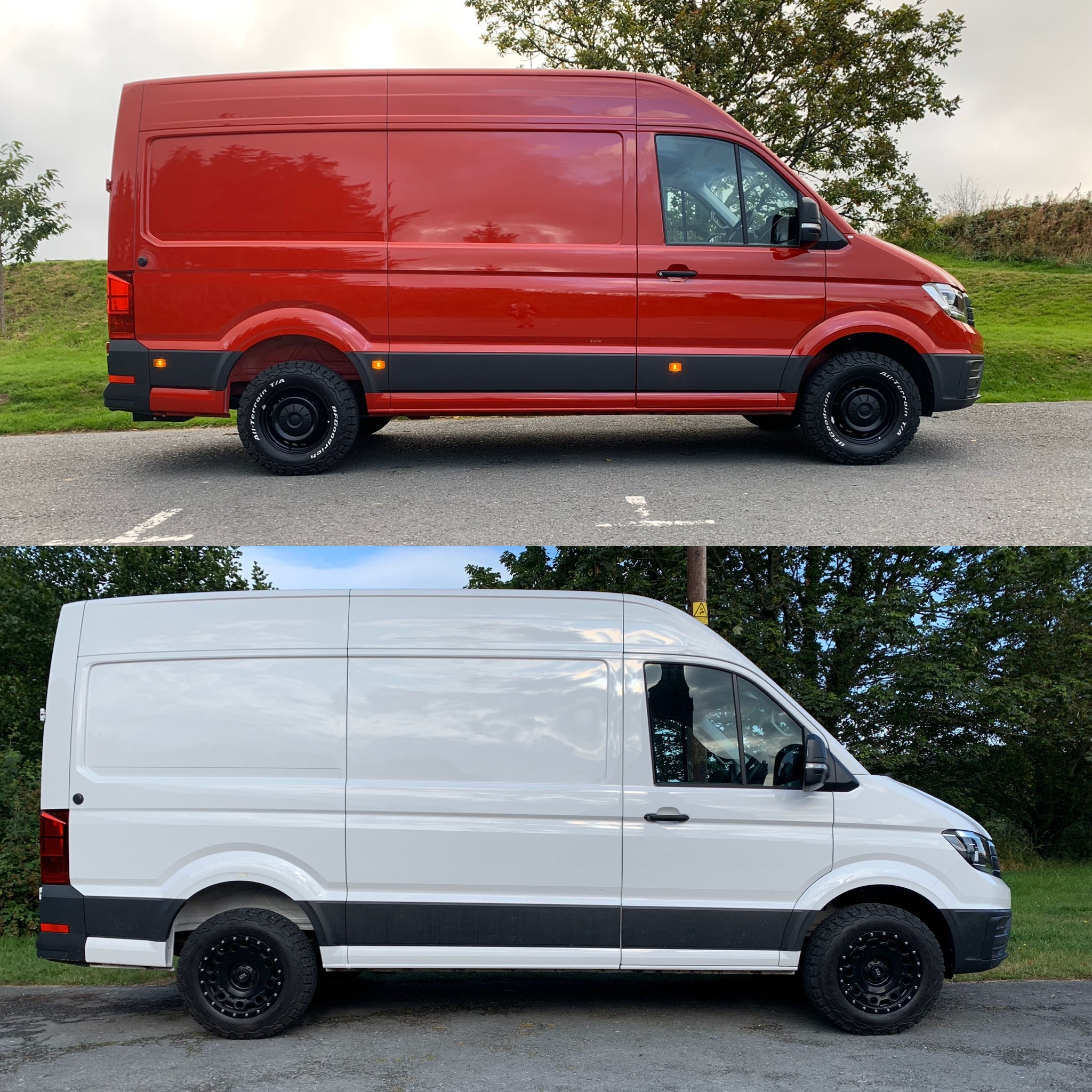 LIFT KIT NEW CRAFTER & CADDY