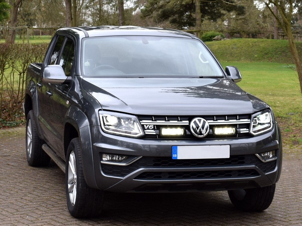 VW Amarok V6 Lazer Triple R 750 Grill Kit