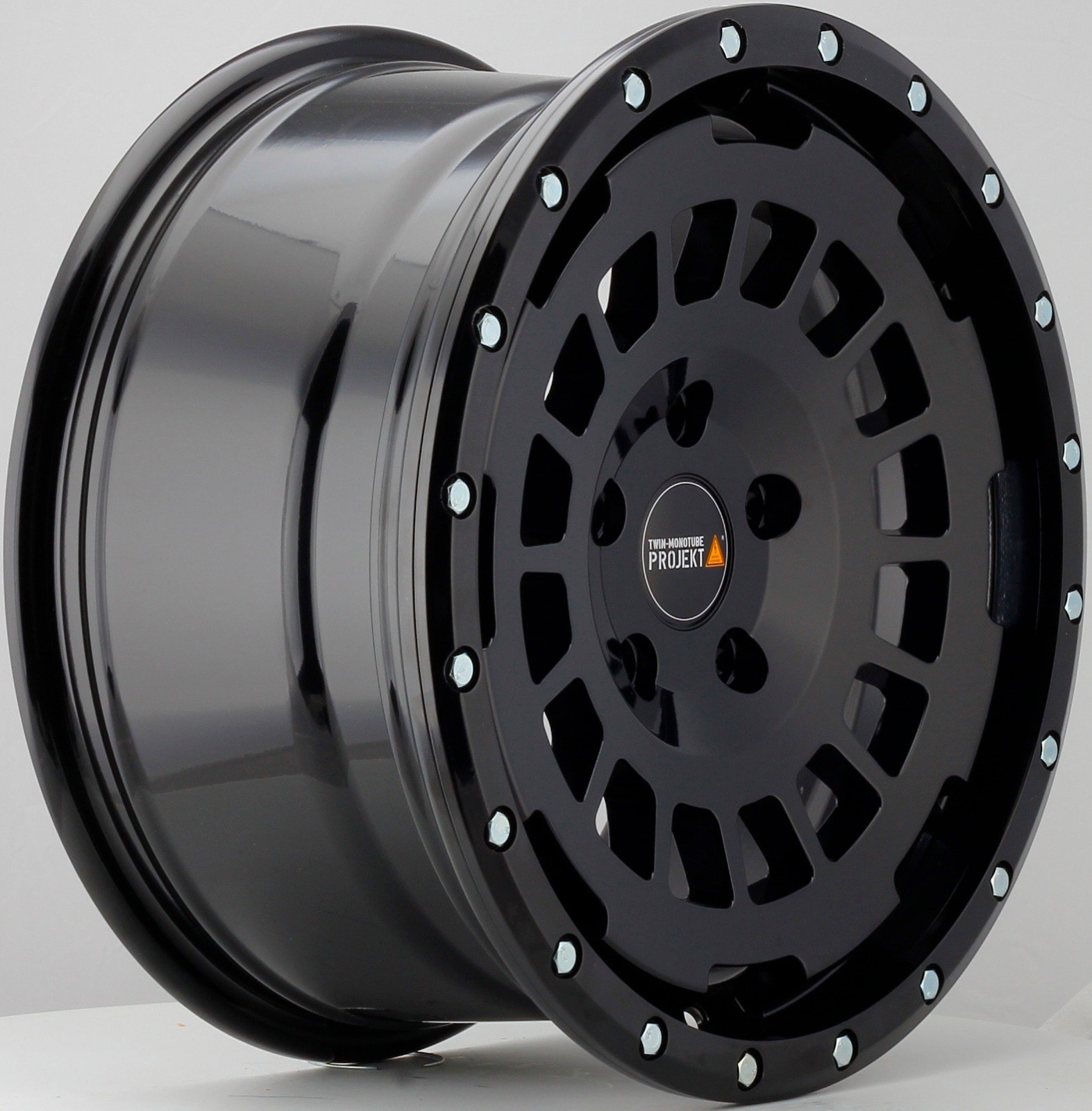 17″ Twin Monotube Projekt AT Swamper Wheel WITH GENERAL AT3