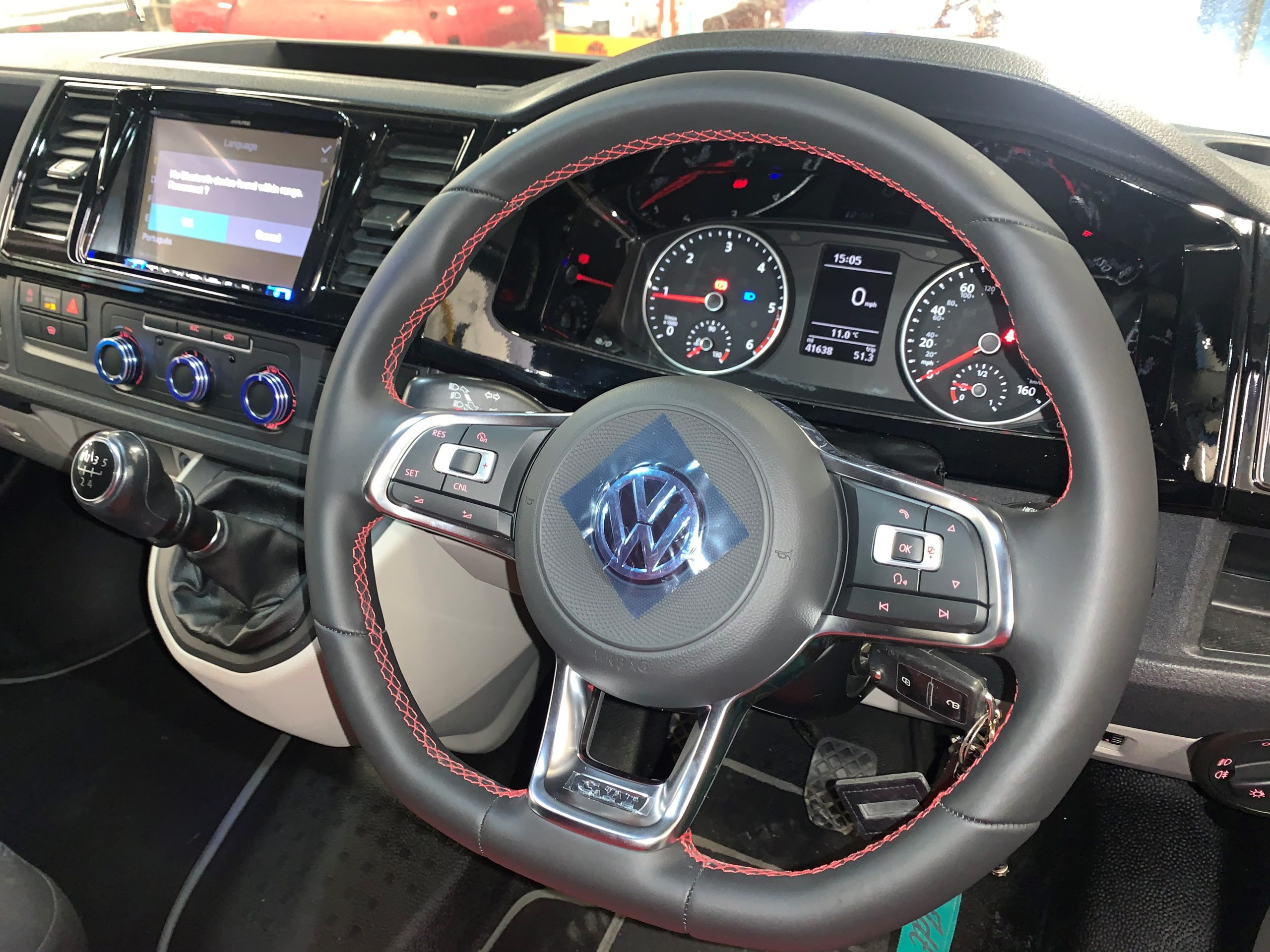 MK7 GTI MULTIFUNCTION STEERING WHEEL WITH CC