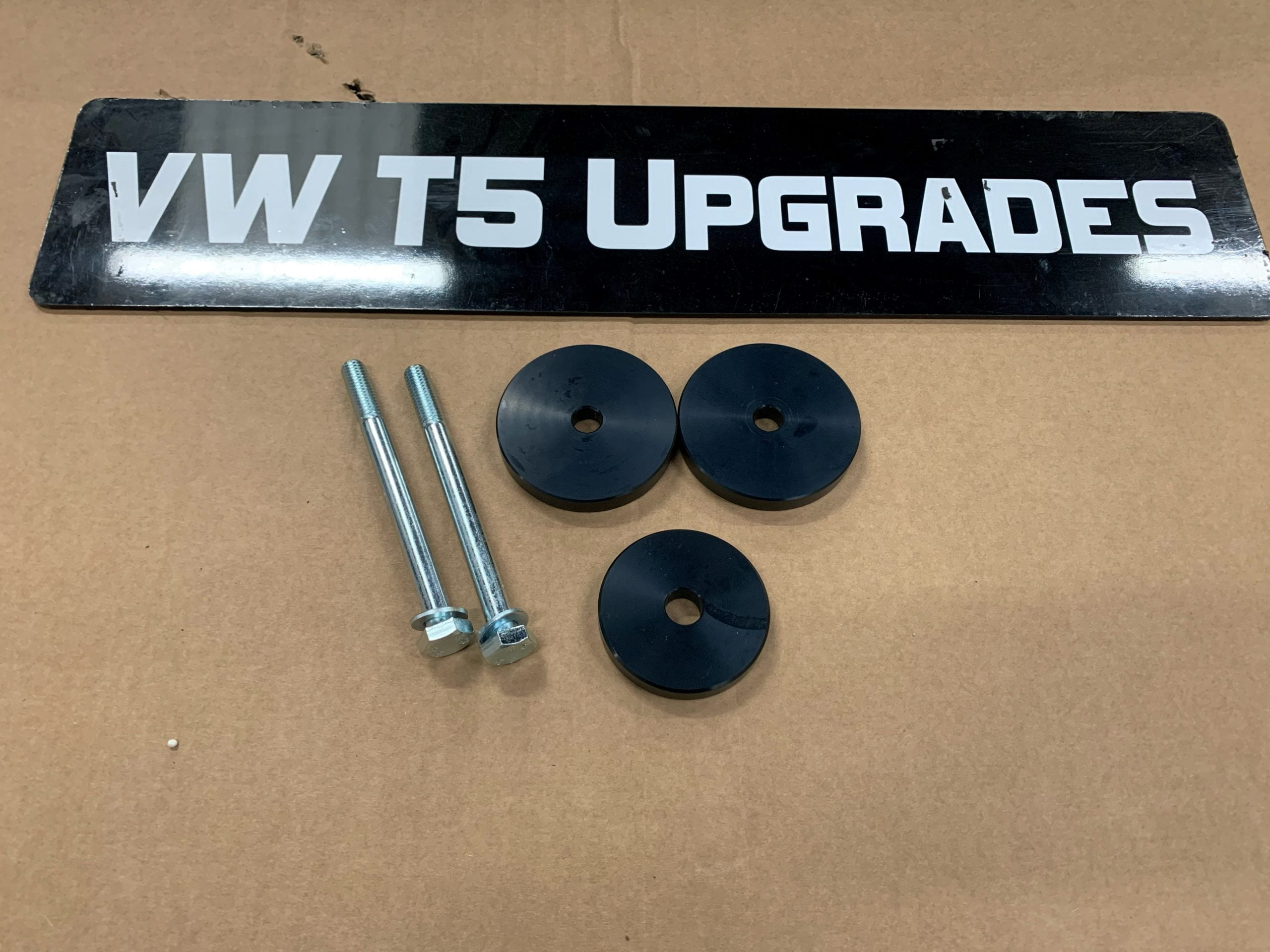 Rear Differential Spacers For Lifted 4Motion VW T5, T5.1, T6, T6.1