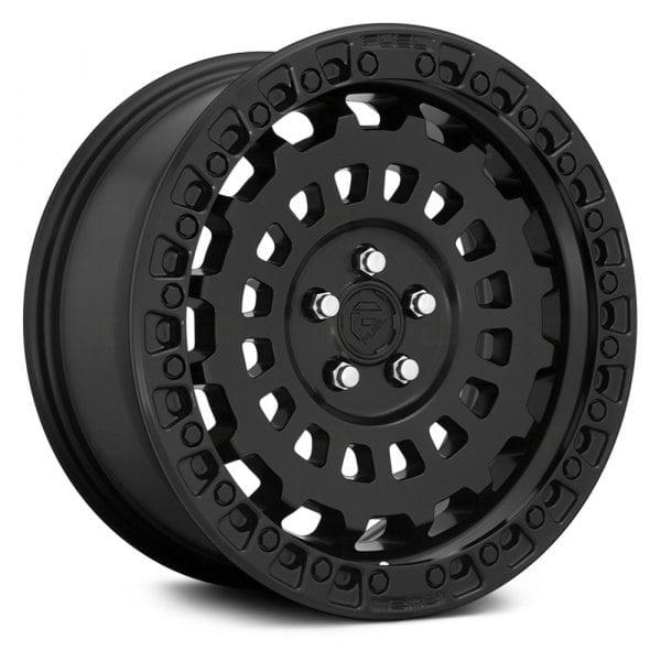 17″ Fuel Zephyr Matt Black Finish 8.5J 5×120 Wheels  With BFG