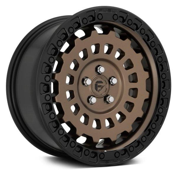 17″ Fuel Zephyr Matt BRONZE Finish 8.5J 5×120 Wheels  With BFG