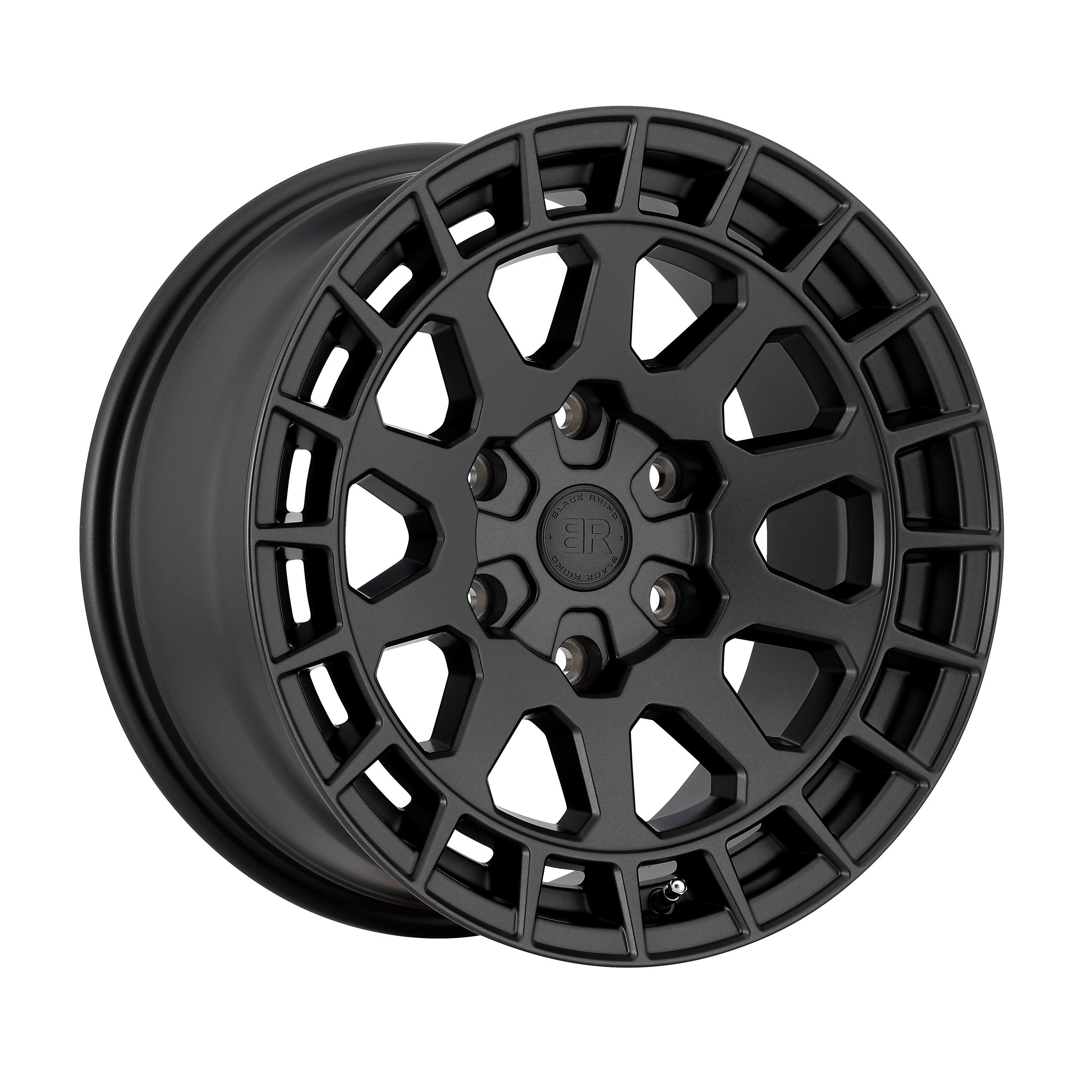 17″ BLACK RHINO BOXER ET12 AND BFGOODRICH KO2 2456517